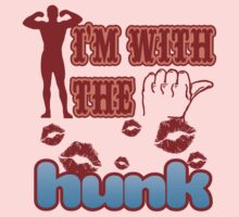 I'M WITH THE HUNK by Heather Daniels