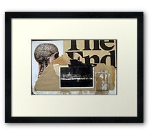 PRINCIPIO Y FIN (begin and end) Framed Print