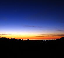 Sunset Flagstaff Hill by DaveLambert