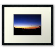 Sunset Flagstaff Hill Framed Print