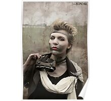 Dieselpunk Kitty Shoot - Goggles Pout Poster