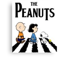 Peanuts Beatles Canvas Print