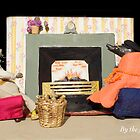 Wind in the Willows - By the fireside by MicksPhotoArt