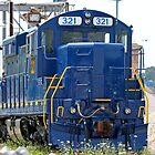 Train Engine by Karl R. Martin