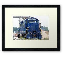 Train Engine Framed Print