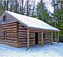 Letchworth - Jemison Log House by LocustFurnace