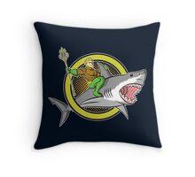 Aquaman: like a boss Throw Pillow