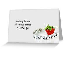 Contradiction Greeting Card