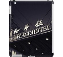 OLD SHANGHAI - Peace Hotel iPad Case/Skin