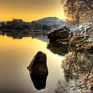 Sunset over Glen Affric by Fraser Ross