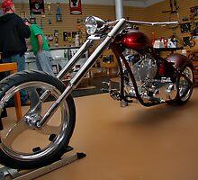 Custom Bike Shop by Wendy Mogul