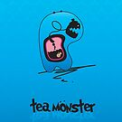 Tea Monster by elasticemma