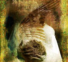The Bird Madonna by Antaratma Images