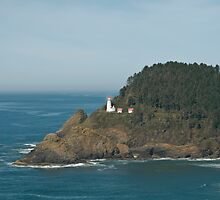 Oregon's Heceta Head Light by Randall Scholten