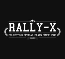 Rally-X - Retro White Clean by garudoh