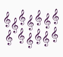 Note clefs by Designzz