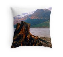 The Grampian Mountains. Scotland, 1996. Throw Pillow