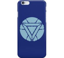 Celtic Ironman Arc Reactor Mk2 White with Blue fill iPhone Case/Skin
