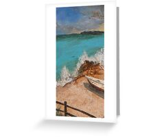 Resting on Sand Greeting Card