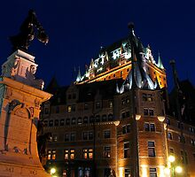 Fairmont Chateau Frontenac, Quebec by C1oud