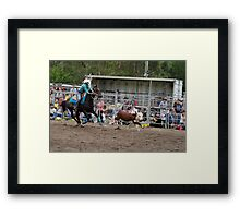 Picton Rodeo ROPE9 Framed Print