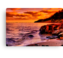 """Remnants of a Relaxing, Refreshing Pastime"" Canvas Print"