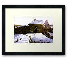 Old Cottage Framed Print