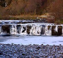 Wainwath Force,Keld  Yorkshire Dales by Trevor Kersley