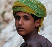 Omani boy by mojgan