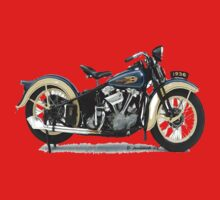 1936 Knucklehead-Long Sleeve by ezcat