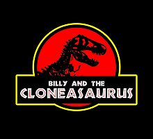 Billy and the Cloneasaurus by See My Shirt