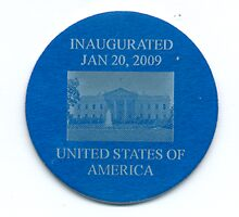 The Barack Obama Presidential Coin ( Reverse ) by maximus7