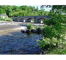 5-Span Stone Bridge Photographic Print