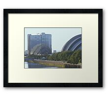 "Reflection of ""The Armadillo"" Framed Print"