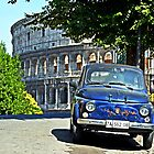 Fiat 500 at the Coliseum by cromagnon