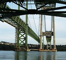 Tacoma Narrows Bridge by Julia Washburn
