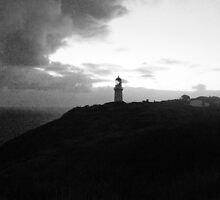 Lonely Lighthouse by nadiairianto