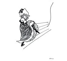 Remake by Toulouse Lautrec II Photographic Print