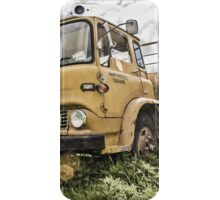 Abandoned Bedford Truck, Taihape iPhone Case/Skin