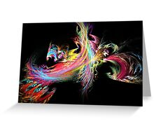 Apophysis Fractal 5 Greeting Card