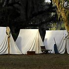 1800s US Army Tents by David Lee Thompson
