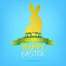 Easter Background by Olga Altunina