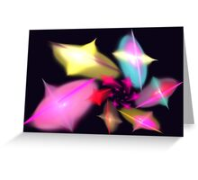 Apophysis Fractal 9 Greeting Card