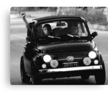Fiat Rally Northern Italy Canvas Print