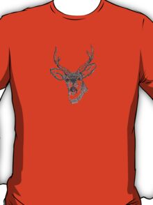 Deer Head Illustration T-Shirt