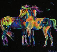 Medicine Ponies by louisegreen