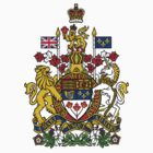 Canada Coat of Arms by Charlie brownsky