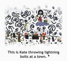 Kate Terrorizes Town by oldmanradish
