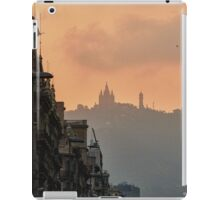 Barcelona purple iPad Case/Skin
