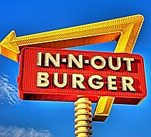 IN-N-OUT BURGER  by The Beard